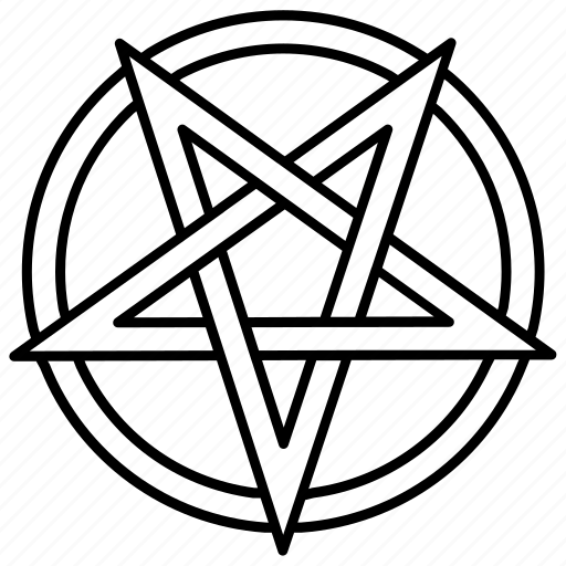 Devil Symbol Of Pentagram Clipart Library