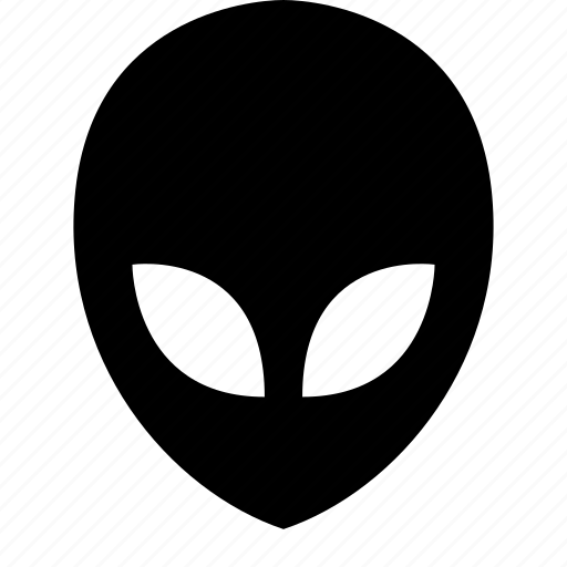 alien, face icon