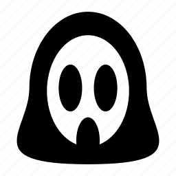 face, ghost, scary icon
