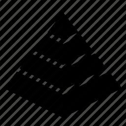 egypt, pyramid icon