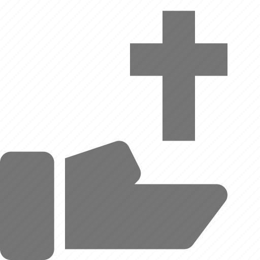 christianity, hand, religion, share, spirituality icon