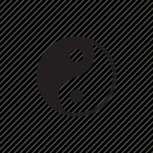 religion, religious symbol, symbol, yin yang icon