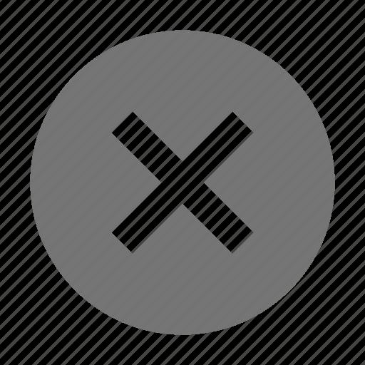 block, remove, stop icon