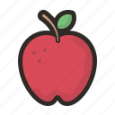 apple, food, sweet, fruit