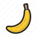 banana, bananas, food, fruit, tropical icon