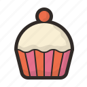 bakery, confectionery, cupcake, muffin, sweets icon