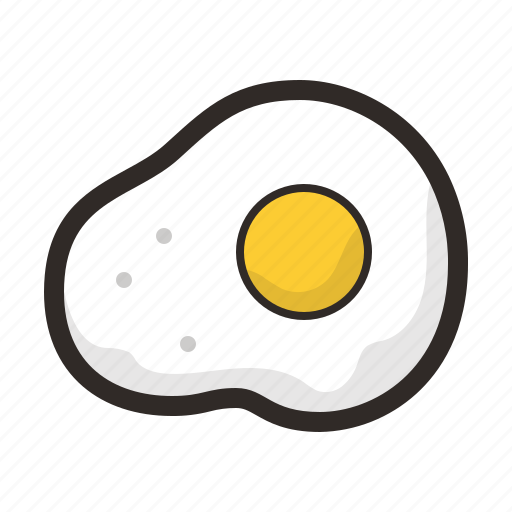 egg, food, fried, healthy icon