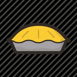 apple pie, bake, food, pie icon