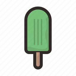 food, ice, icecream, lolly, popsicle, sweet icon