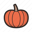 food, gastronomy, organic, pumpkin, vegetable icon