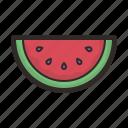 watermelon, food, fruit, healthy, sweet