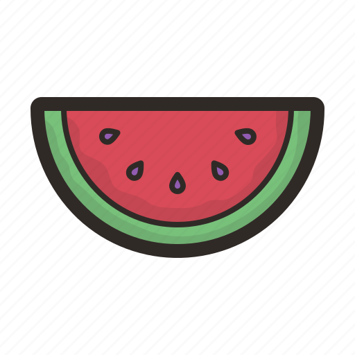 food, fruit, healthy, sweet, watermelon icon