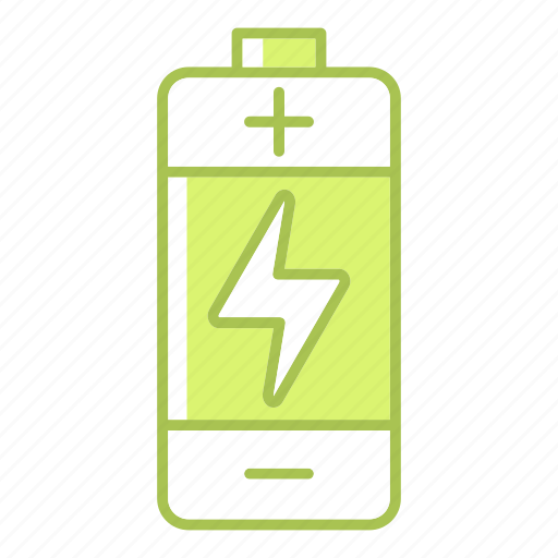 battery, electric, equipment, go green, green technology, power, renewable energy icon