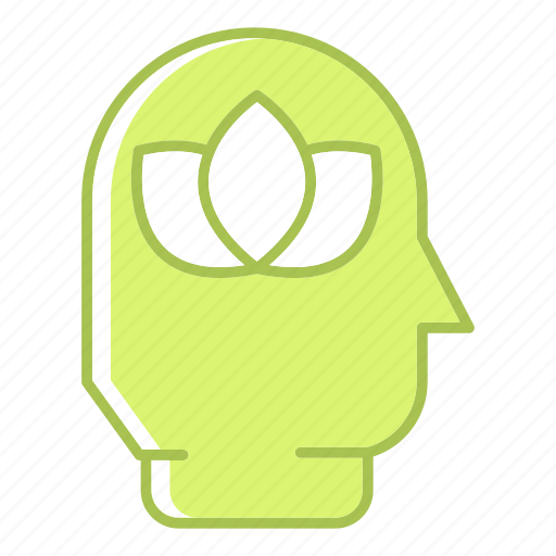 green, green technology, head, power, renewable energy, think icon