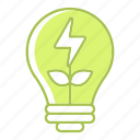 energy, green technology, idea, nature, power, renewable energy icon