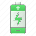 battery, charger, electric, equipment, green technology, power, tool icon