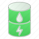 eco, energy, fuel, green technology, oil, power, renewable icon