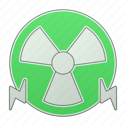 energy, green technology, nuclear, power, renewable energy, sign icon