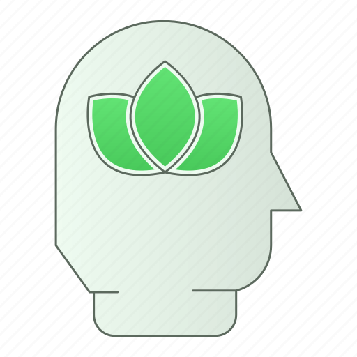 eco, green, green technology, head, nature, power, renewable energy icon