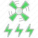 ecology, enegry, green technology, power, renewable icon