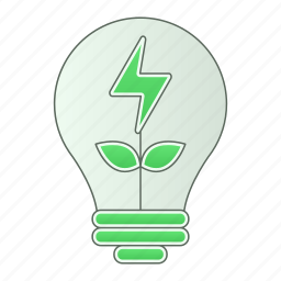 green technology, idea, nature, of, power, renewable icon