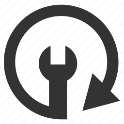 arrow, circular, refresh, reload, repeat, rotation, service icon