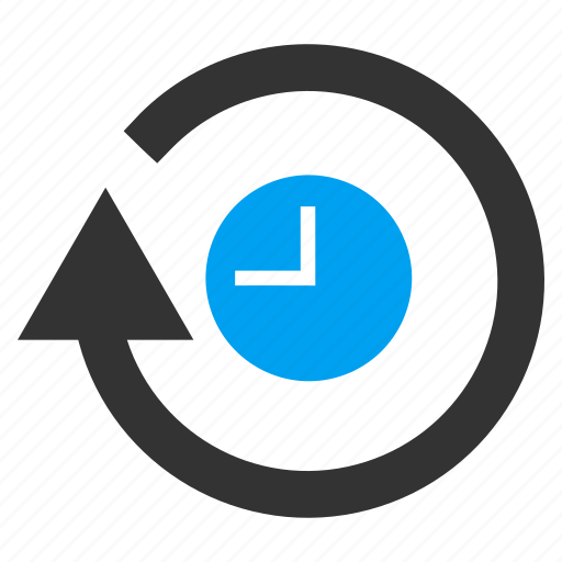 clock, refresh, reload, repeat, rotation, round arrow, time icon