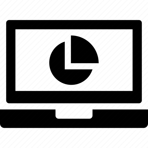 analysis, document, file, laptop, plan, report icon