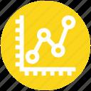 analytics, bars, finance, graph, reports, stabilization icon