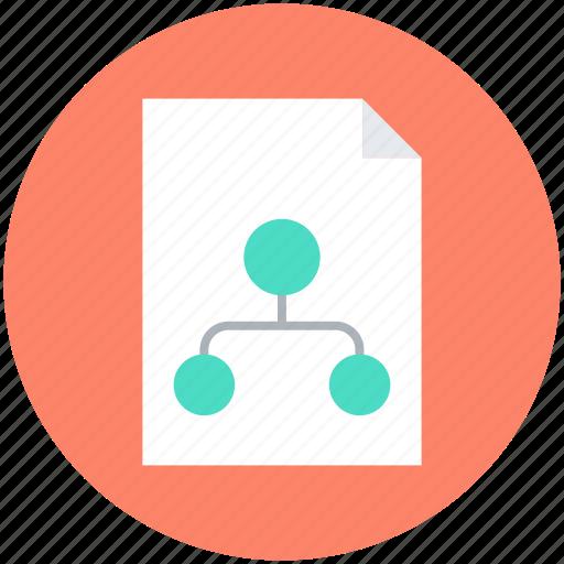 document, marketing report, plan, report, scheme icon