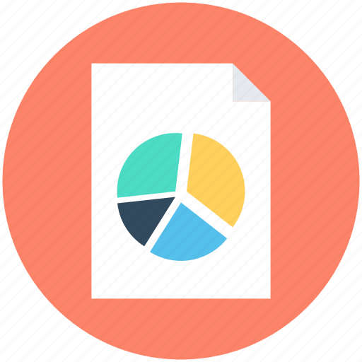 graph report, pie chart, pie graph, report, statistics icon