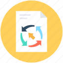 analytics, financial report, graphic report, report, statistics icon