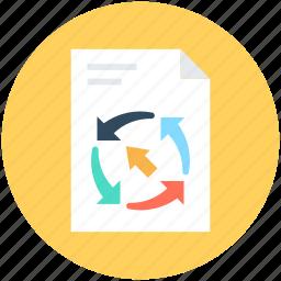 analytics, financial report, graphic report, report, statistics icon