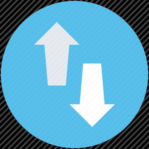 arrows, down arrow, download, up arrow, upload icon