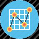 business chart, line graph, presentation, projection screen, statistics