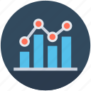 analytic, economy graph, graph, line graph, stats icon