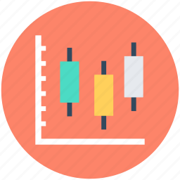 box, box plot graph, candlestick chart, graph, plot graph icon