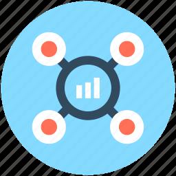 business graph, business presentation, graph board, graph presentation, presentation board icon