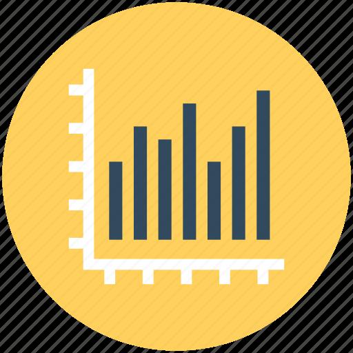 bar chart, bar graph, business chart, business graph, commerce icon
