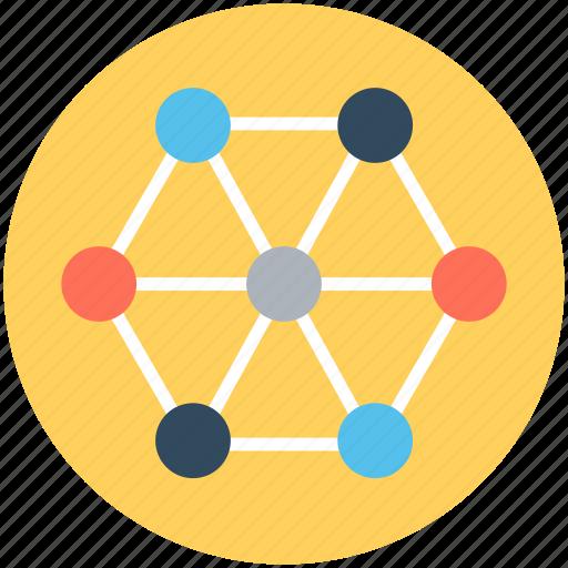 business chart, business graph, commerce, natal chart, radar chart icon