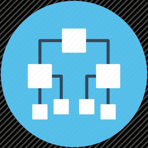 branch graph, pedigree chart, pert chart, structure chart, tree chart icon