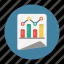 chart, document, graph, report, sheet