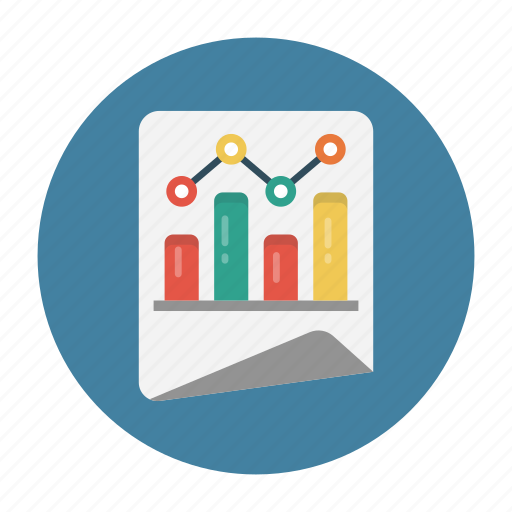 Chart, document, graph, report, sheet icon - Download on Iconfinder