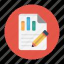 document, edit, graph, report, sheet