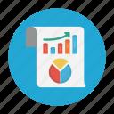 chart, graph, report, sheet, statistics