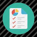 chart, diagram, document, report, sheet