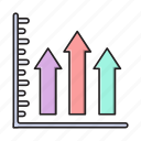 chart, graph, growth, increase, report