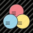 chart, circle, graph, report, statistics