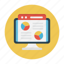 lcd, report, screen, sheet, online