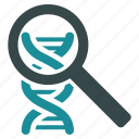 chemistry, dna analysis, genetic research, genetics, genome helix, medical analytics, spiral structure icon